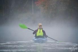 Misty Paddle-Royal River, Yarmouth Maine