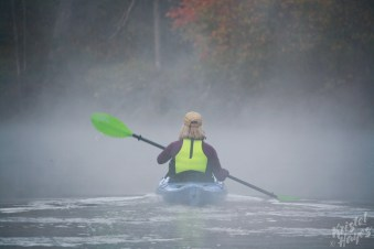 Misty Paddle-Royal River, Yarmouth Maine