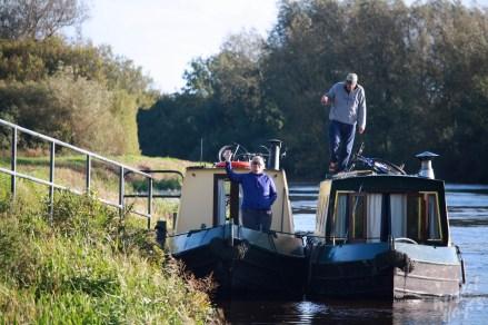 Narrow Boat Life Along the Barrow River, Ireland