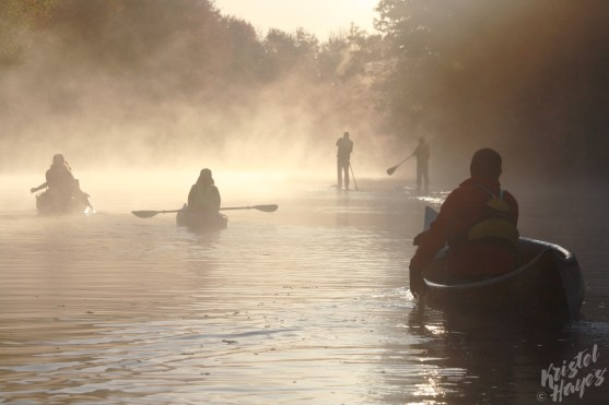 Paddling Into Light-Royal River, Yarmouth Maine