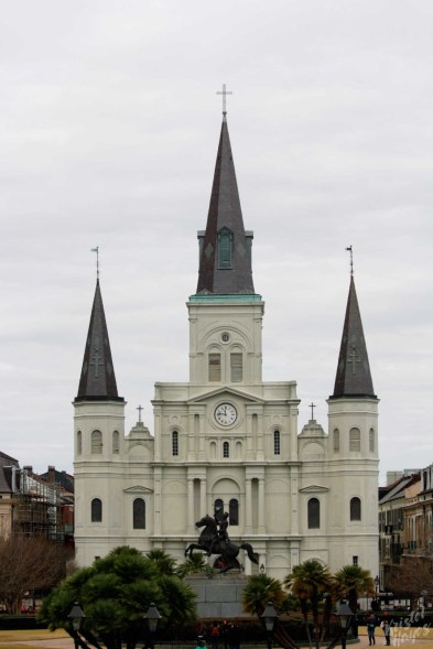 NOLA-French Quarter-St Louis Cathedral
