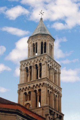 Bell Tower at the Cathedral of St. Dominus, , Split Croatia
