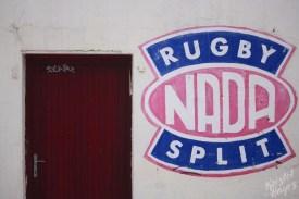 Rugby Sign, Split Croatia