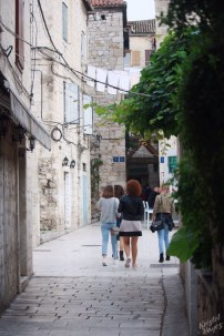 Streets of the Old Town, Split Croatia