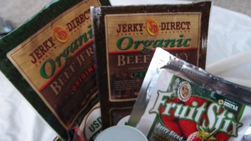 Organic jerky