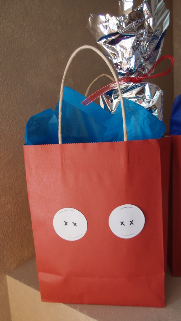 DIY Mickey Mouse Bags