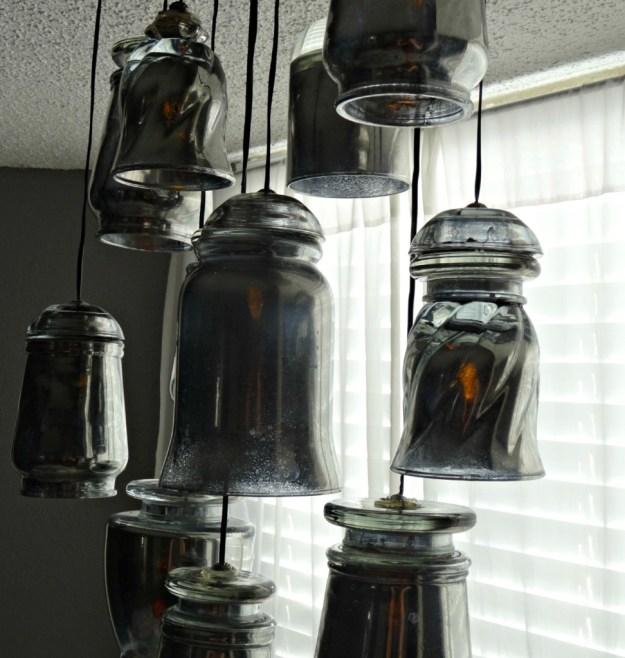 DIY Paxton Glass Chandelier