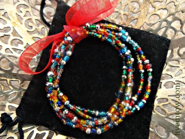 Christmas Lights Bracelet