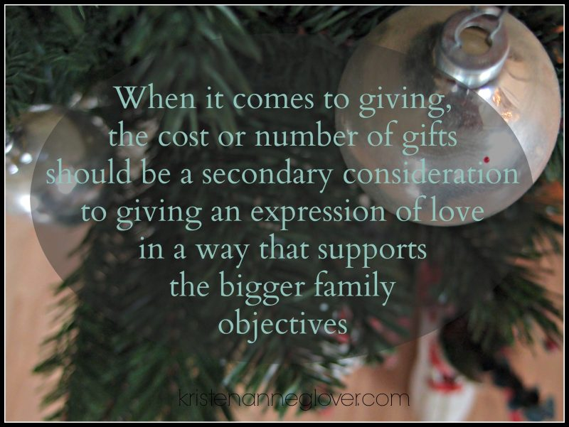 Budget Gift giving