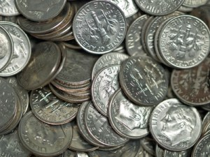 Day 78: Dimes in Ivory Soap