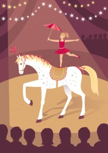 Day 118: Infusion of Hope: The Circus Rider #acfw