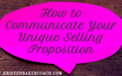 How to Communicate Your Unique Selling Proposition