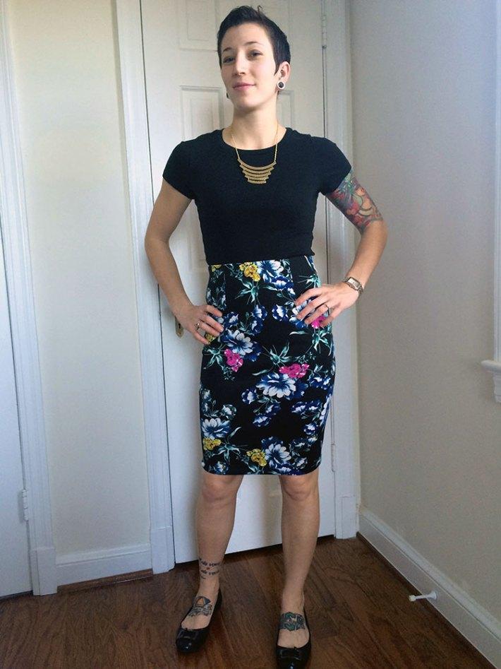 Eight Sixty Iona Pencil Skirt