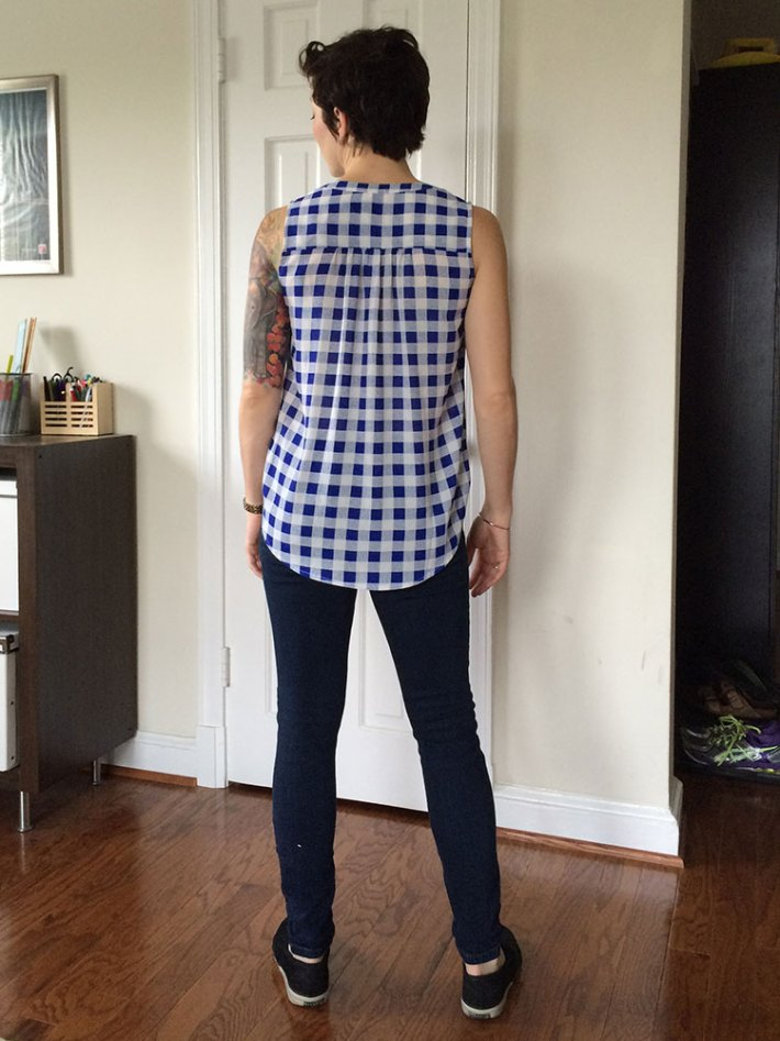 Pixley Panorama Henley Blouse (back)