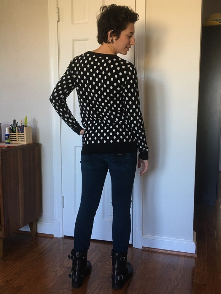 41Hawthorn Gideon Polka Dot Sweater (back)