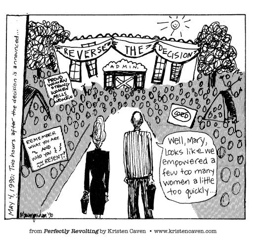 """Reverse the Decision"" cartoon"