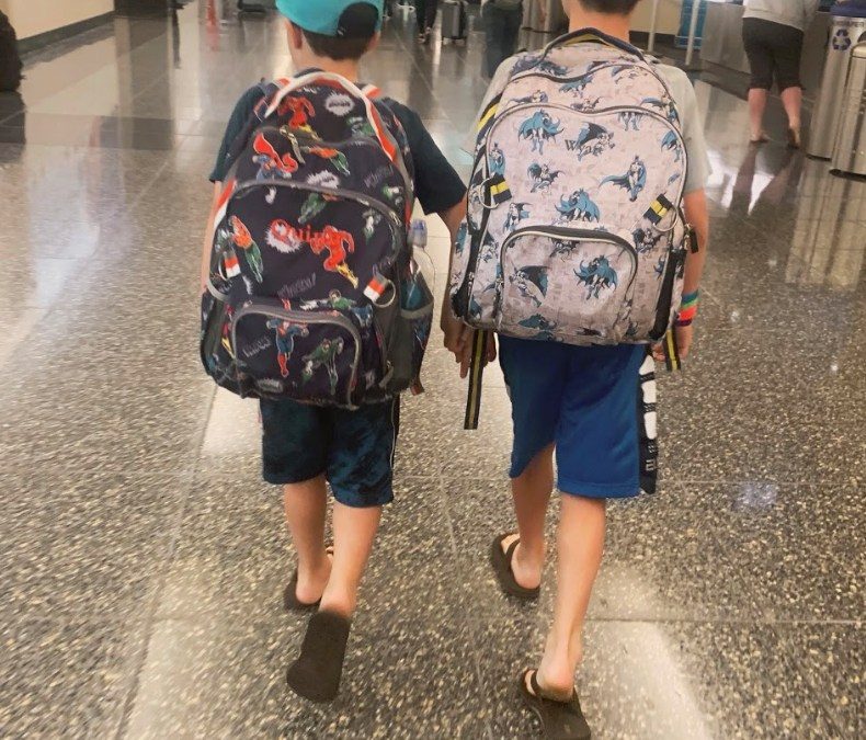 Stress Free Flying With Kids: 5 Secrets You'll Want to Steal