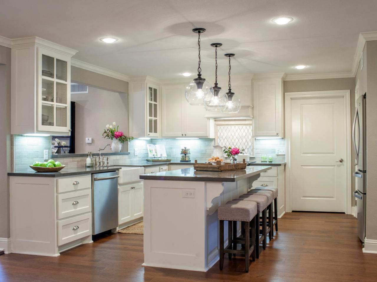 10 fixer upper modern farmhouse white kitchen ideas - kristen hewitt