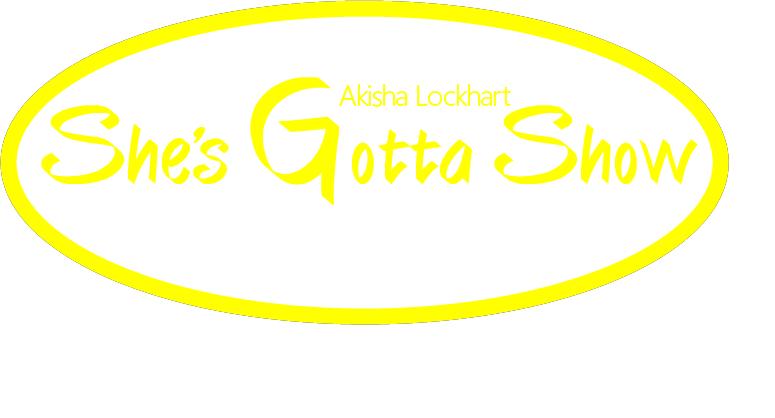 She's Gotta Show (yellow) Logo Designed by Kristen Hayman