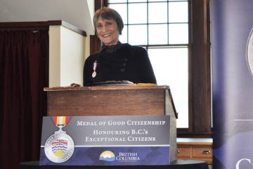 Stephanie Fischer awarded Medal of Good Citizenship