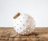 spiky ceramic jar inspired by blowfish by olis cupboard on etsy