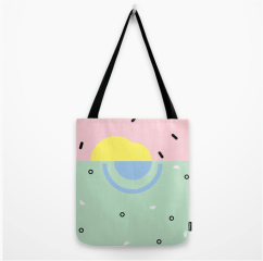 Sunset on Venice Beach tote bag by Kodiak Milly