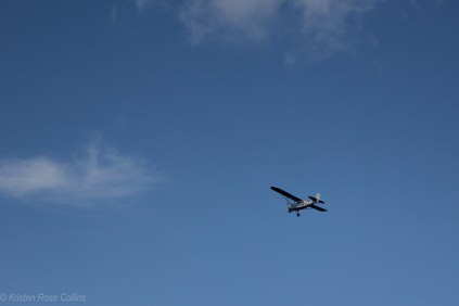Taking off from Aeroflex Airport in Kittatinny Valley State Park