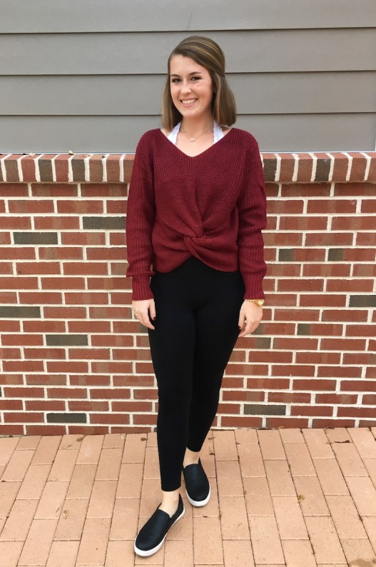 3 Ways to Style a Sweater for Fall - Out & About