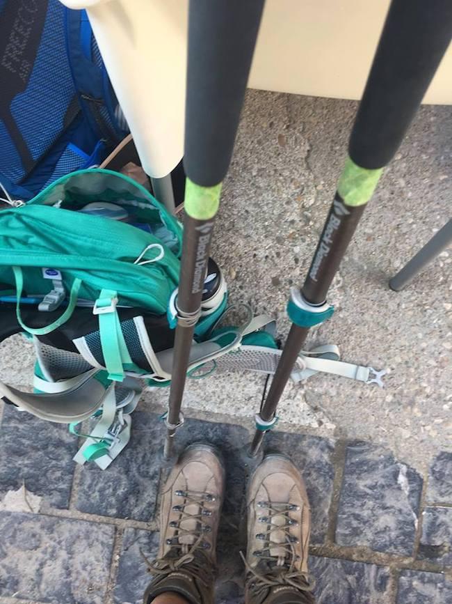 Camino Experience Kristen Shane gear 3