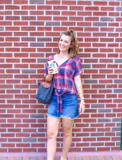 Affordable College Fashion - Easy Fall Outfit Ideas - KristenShane.com