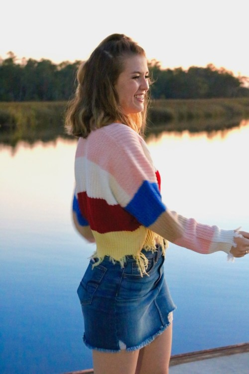 Rainbow Sweaters and Sunsets Kristen Shane