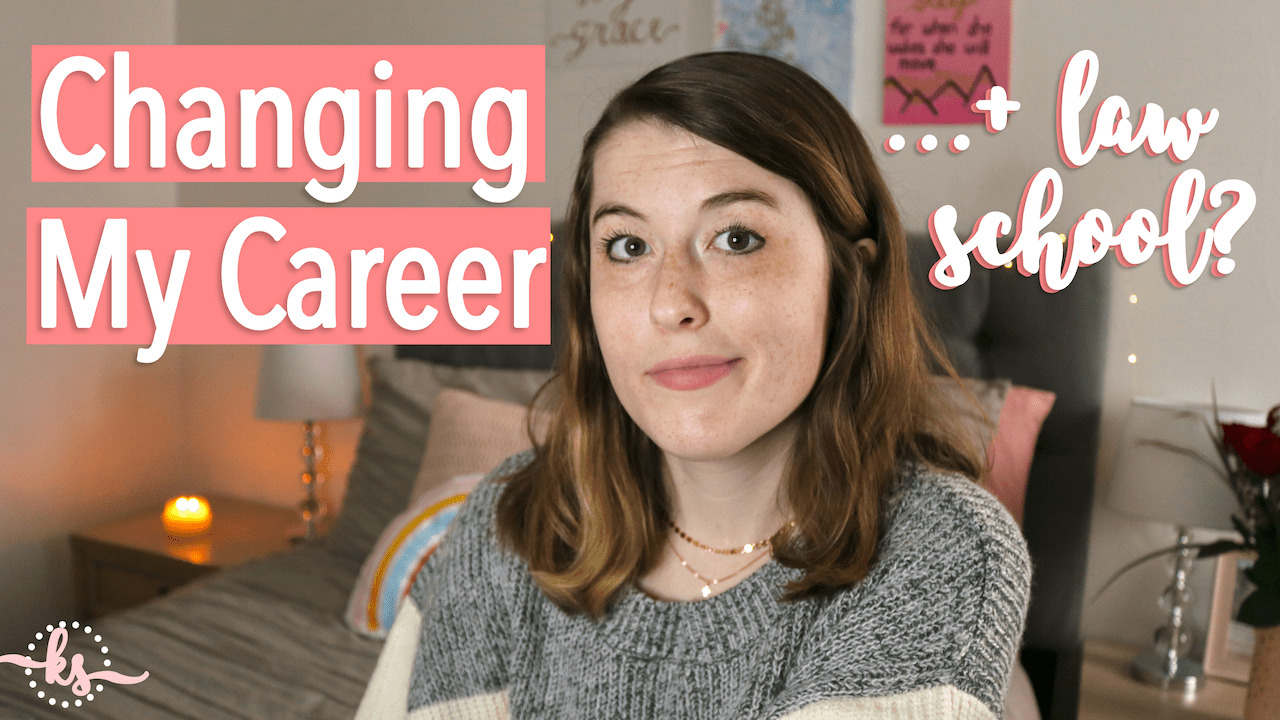 Changing My Career + Leaving Law School at 23 | Honest Vlog