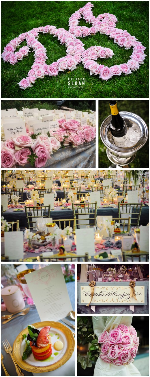 pink rose wedding denver