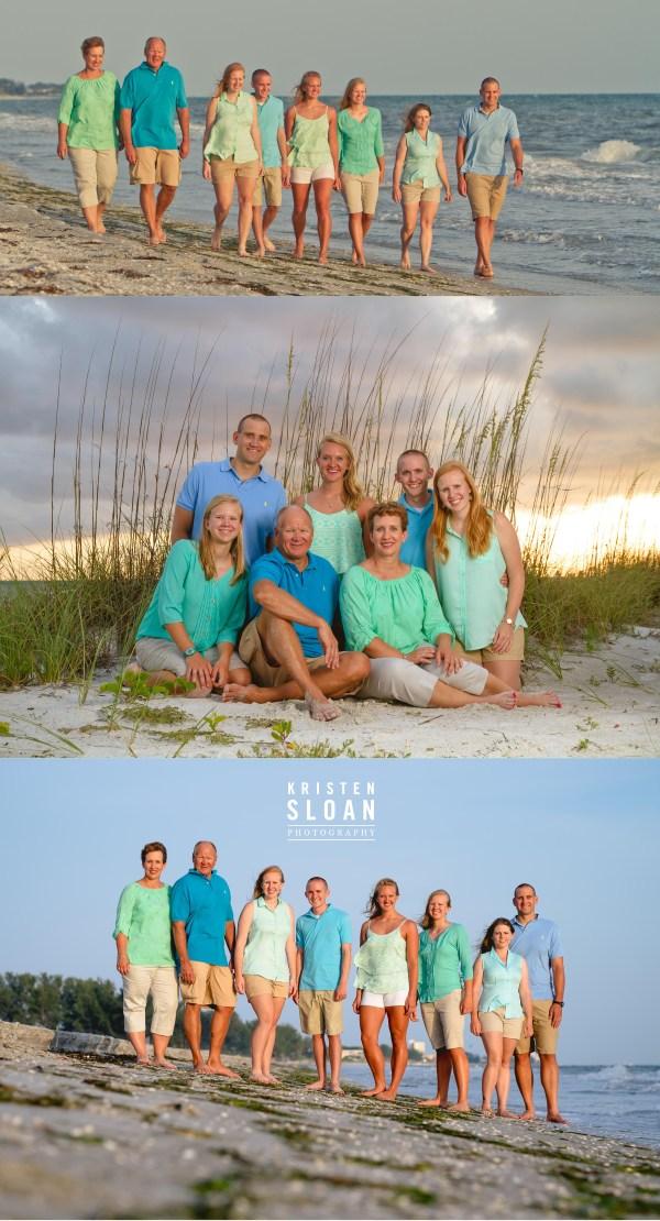 Longboat Key Florida Family Beach Photos