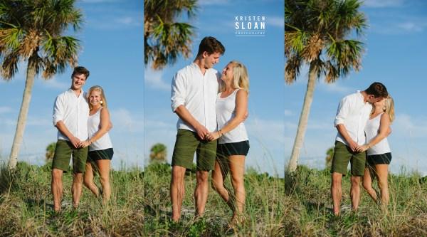 Treasure Island Wedding Portrait Photographer | St Pete Beach Wedding Portrait Photographer | Madeira Beach FL Photographer | Indian Rocks Beach Photographer | Kristen Sloan Photography