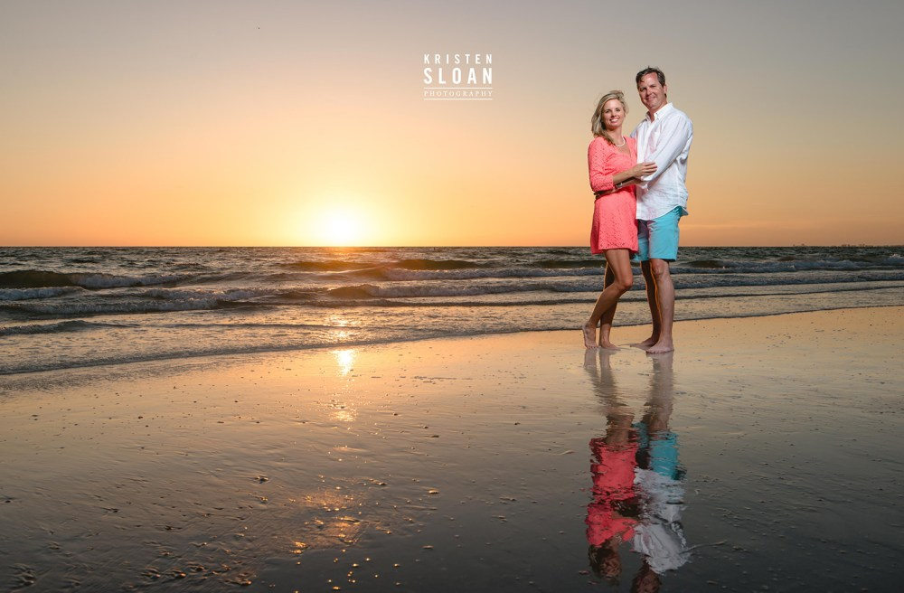 Don Cesar Beach Engagement Anniversary Couples Portrait Photos | St Pete Beach Wedding Portrait Photographer Kristen Sloan | Don Cesar Beach Photos