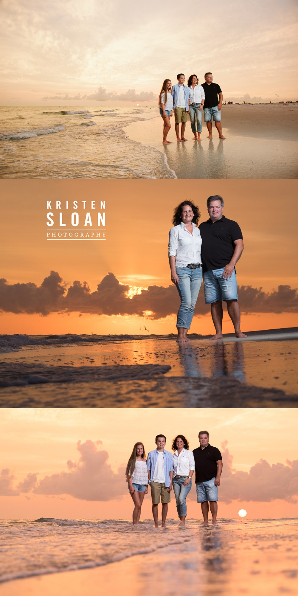 Treasure Island Florida Family Beach Sunset Photos Kristen Sloan Photography