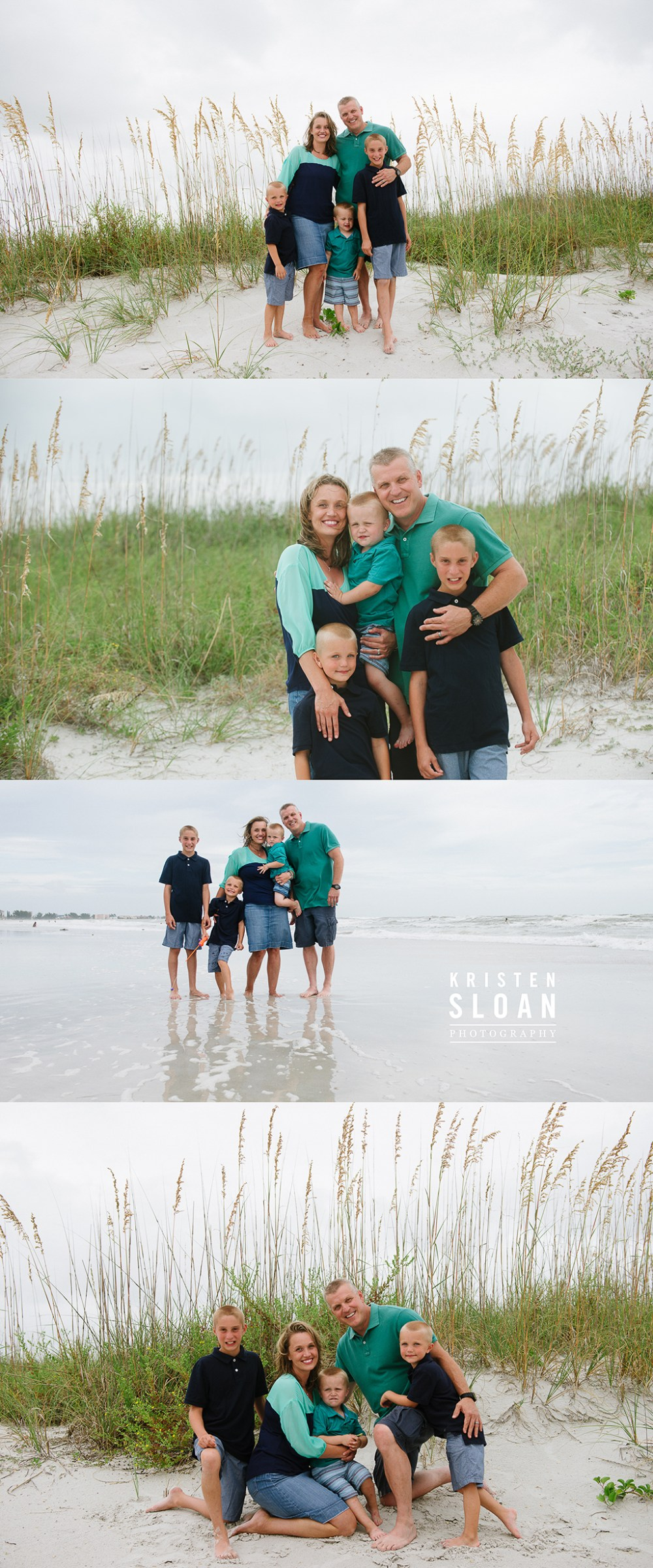 Sunset Vistas Beachfront Suites Family Portrait Photos Treasure Island