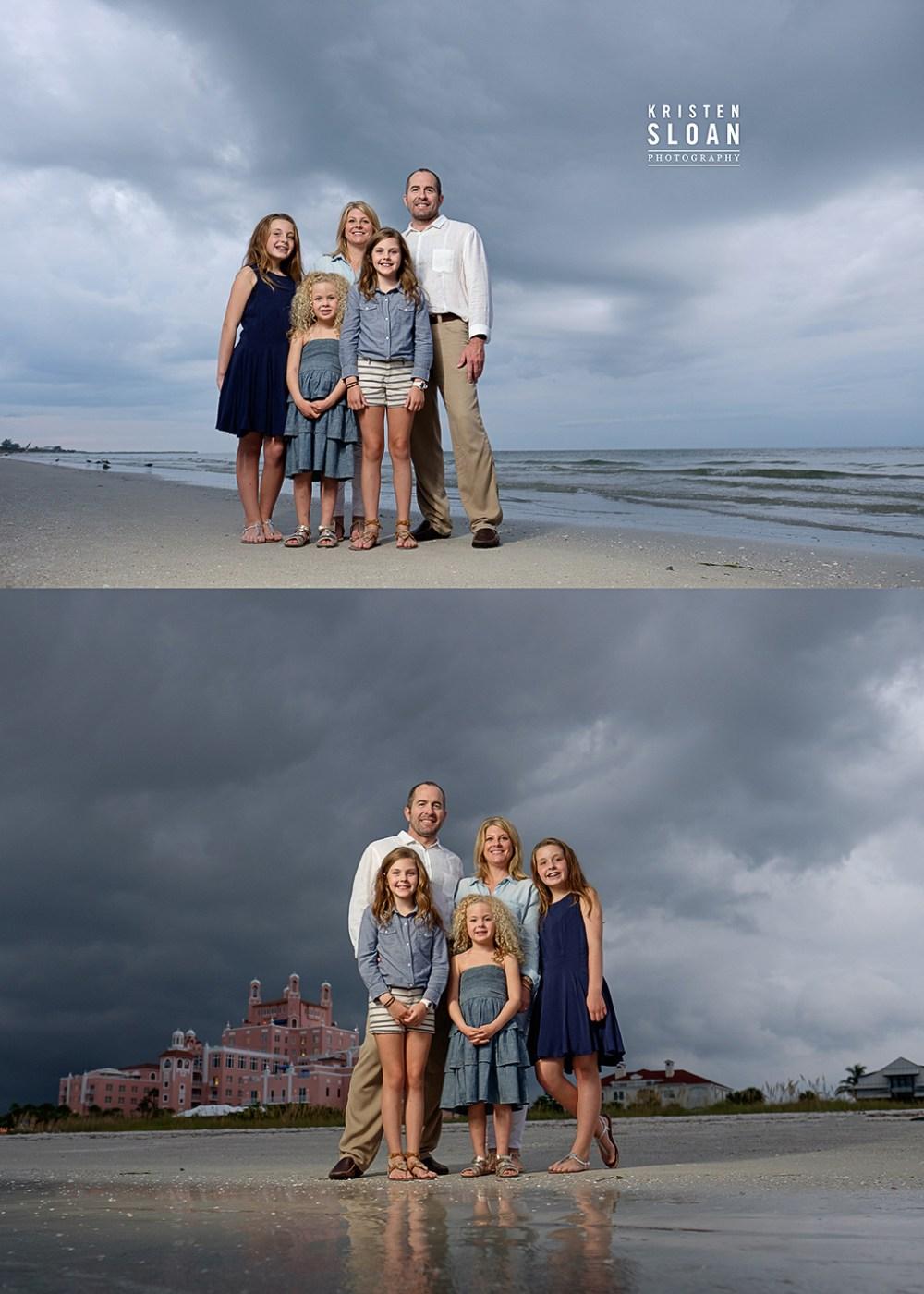 Family Beach Photos Don Cesar Hotel St Pete Beach