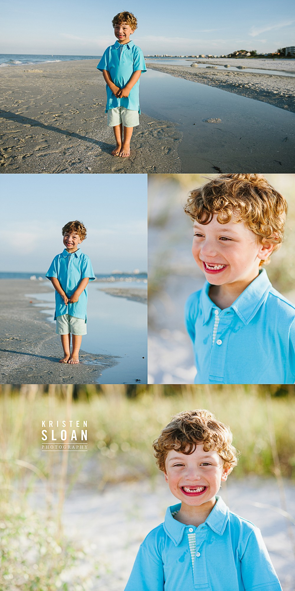 Sunset Vistas Treasure Island Morning Family Beach Portraits | Treasure Island Florida Photographer | St Pete Beach FL Photographer, Kids Beach Portraits Florida |Pass A Grille Beach FL Photographer