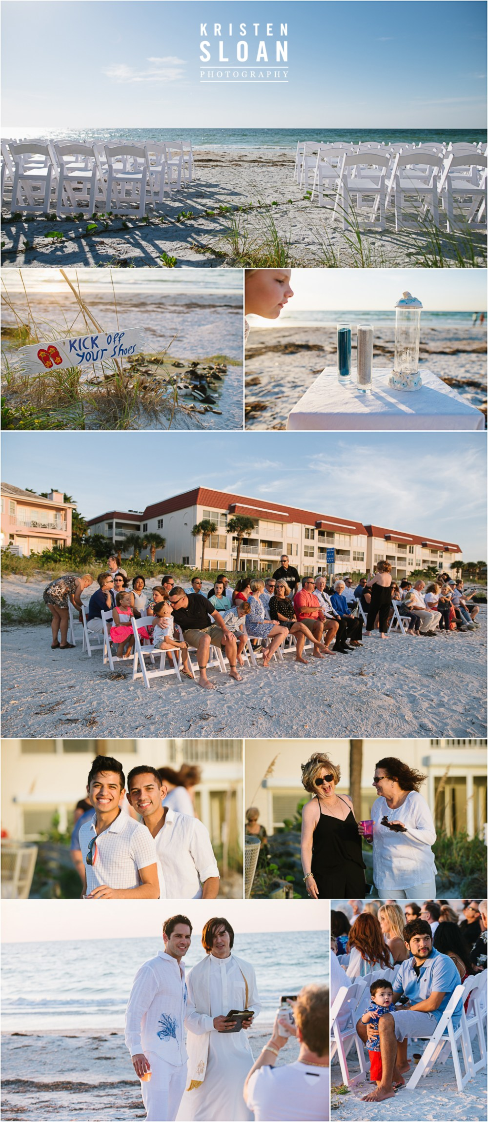 Belleair Beach Florida Wedding | Clearwater Beach Wedding Photographer | Indian Rocks Beach Photographer