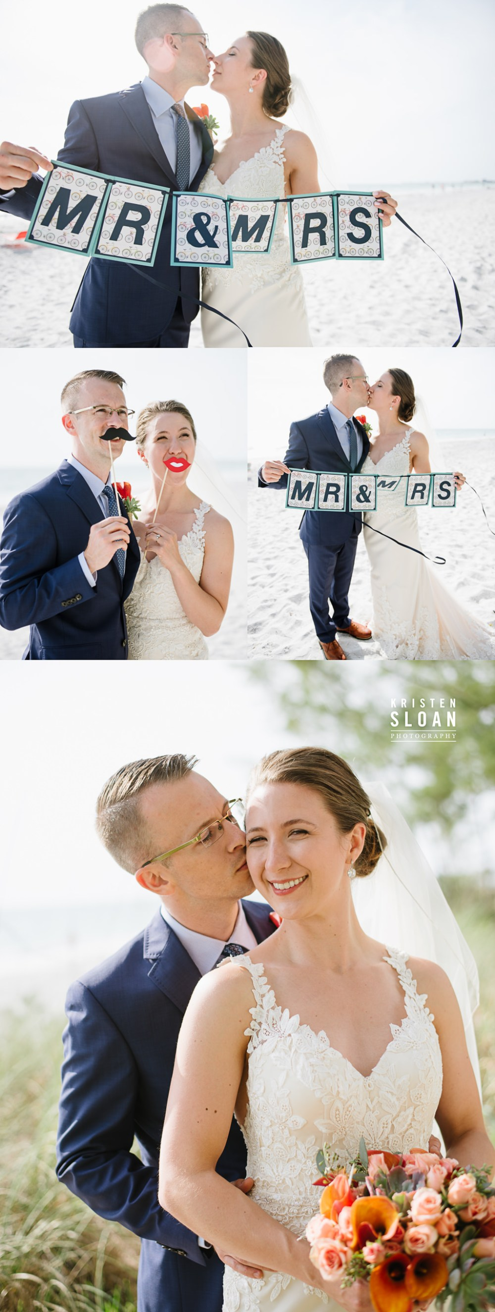 Sunset Beach Wedding Photographer