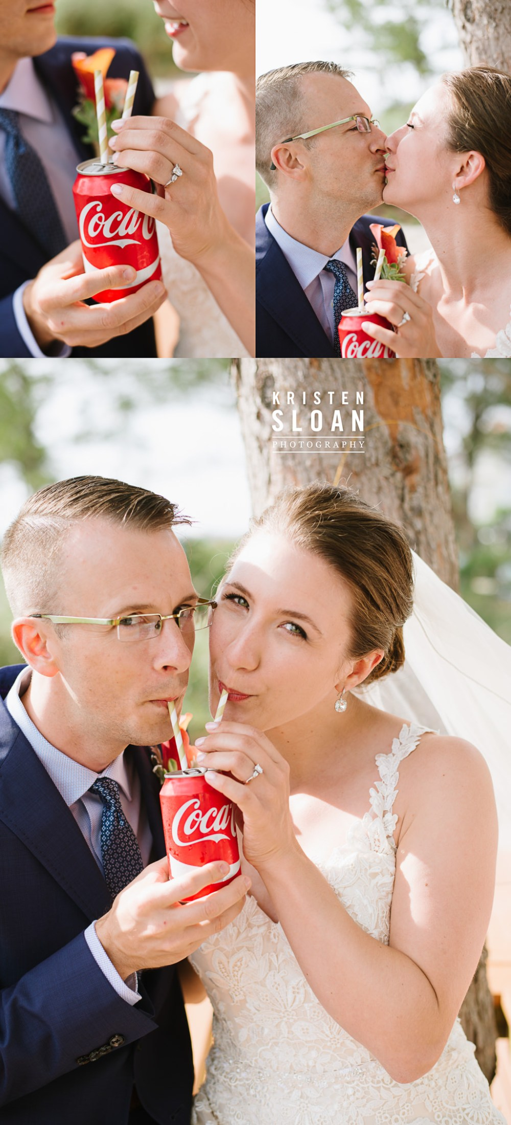 Coca Cola Beach Wedding