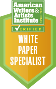 Verified White Paper Specialist Badge