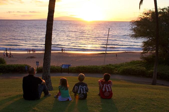 Watching_Sunset_Beach