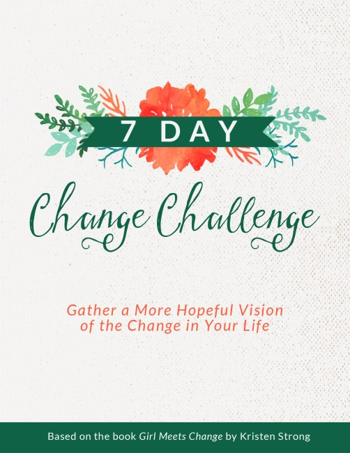7 Day Change Challenge - Cover