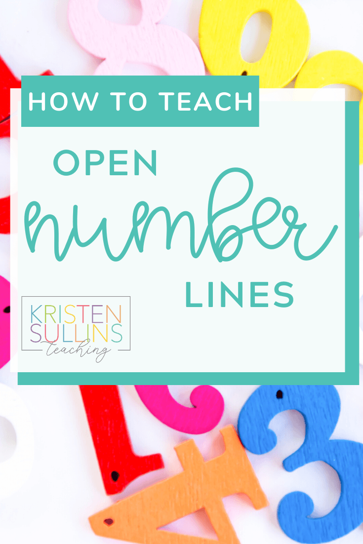 How to Teach Open Number Lines
