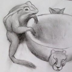 Frog-King-Sketch