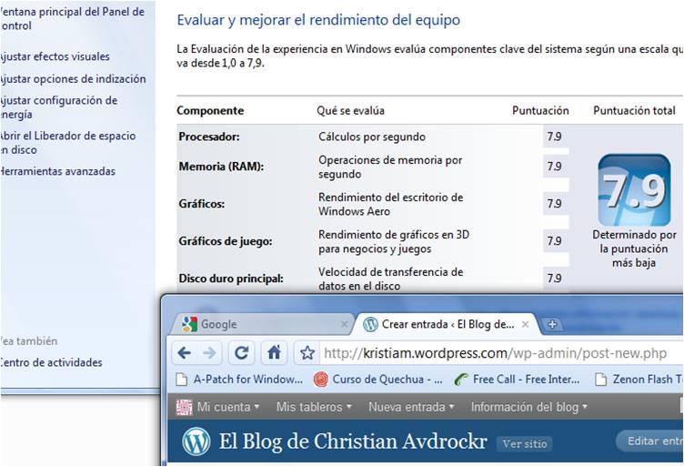 Burlar la Evaluación de Experiencia - Windows 7 (1/3)