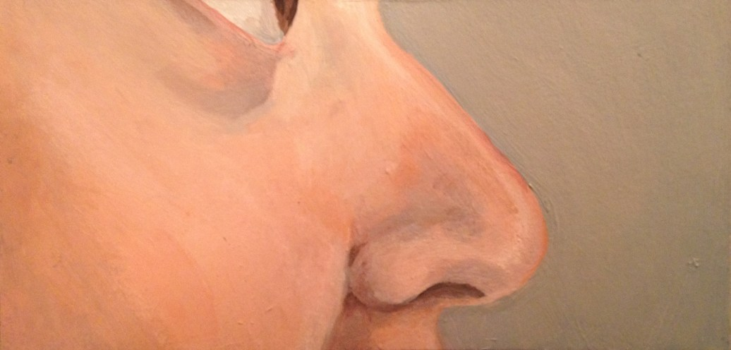 Nose self portrait
